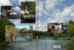 "A GROUND BREAKING NEW LOOK AT THE THEORY AND METHOD TO FLY FISHING FOR FUSSY TROUT, STEELHEAD AND SALMON! THE FIRST DVD-""TROUT"", WAS SHOT ON NEW YORK, MICHIGAN, PENNSYLVANIA, WISCONSIN, MINNESOTA AND MONTANA'S  TAIL WATER, FREESTONER AND SPRING CREEK WORLD CLASS FISHERIES"